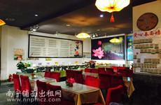 (已成交)青秀竹溪立交旁青山路临街100平米素食餐馆招租