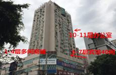 民主路官塘菜市旁斯壮大厦50一1600平铺面、办公室教育机构