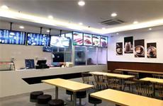 (已成交)华南城一楼商业金街90平连锁品牌餐饮店转让