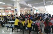 学校万人食堂内多间20平米食堂档口招租,无转让费